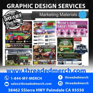 Email Blasts, Flyers, Marketing Graphics